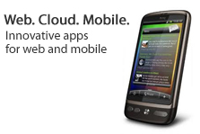 Web. Cloud. Mobile.